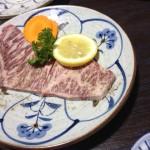 松阪牛の特上塩ロース