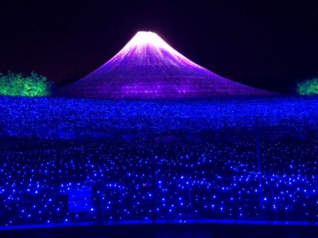 春夏秋冬の富士山