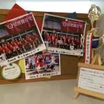 赤組、白組の写真、SAYURI倶楽部の写真、トロフィー!